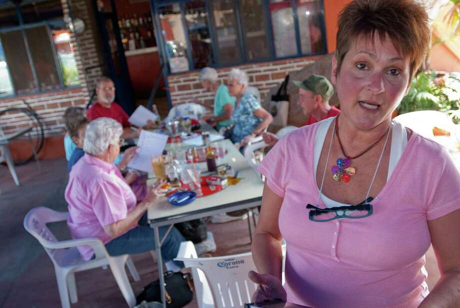"The rise in drug-related violence in formerly peaceful areas is of growing concern to Americans living in Mexico. Lorraine Kulig, originally from Walden on Lake Houston, said retirees feel like they are ""caught in the crossfire."" Photo: Keith Dannemiller / ©2012 Keith Dannemiller"