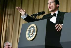 Stephen Colbert in 2006.    (HYUNGWON KANG / REUTERS)