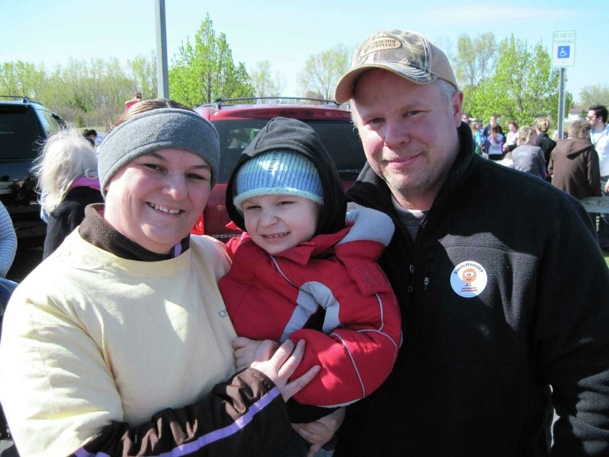 Were you Seen at the March of Dimes' March for Babies walk at The Crossings in Colonie on Sunday, April 29, 2012?