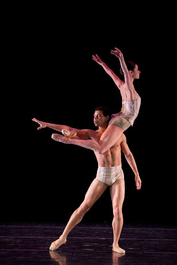 company c Key to Songs:     Jackie McConnell and Taurean Green in Charles Anderson s Key to Songs, featured as part of Company C Contemporary Ballet s 2012 season. Photo: Rosalie O Connor. Photo: Rosalie O Connor.