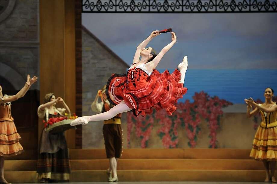 Vanessa Zahorian in Tomasson/Possokhov's Don Quixote.    Erik Tomasson Photo: Erik Tomasson