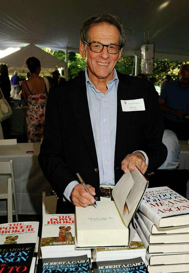 EAST HAMPTON, NY - AUGUST 14:  Robert Caro attends The Authors Night 2010 at The East Hampton Library on August 14, 2010 in East Hampton, New York.  (Photo by Eugene Gologursky/Getty Images for East Hampton Library) Photo: Eugene Gologursky / 2010 Getty Images