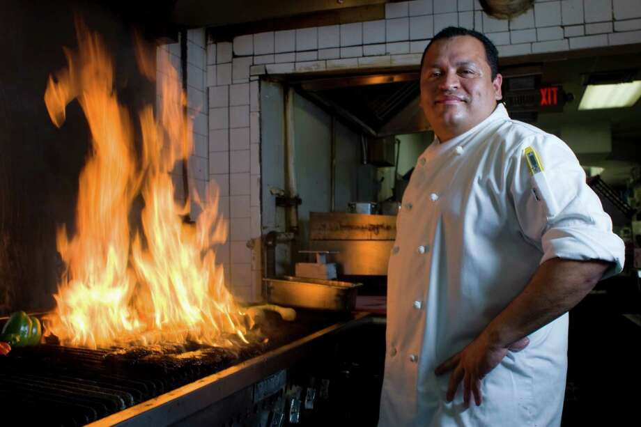 Executive chef Alex Padilla in the Ninfa's on Navigation kitchen. Photo: Johnny Hanson / Houston Chronicle