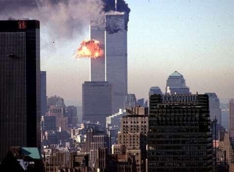 September 11, 2001.  (AFP/Getty Images)