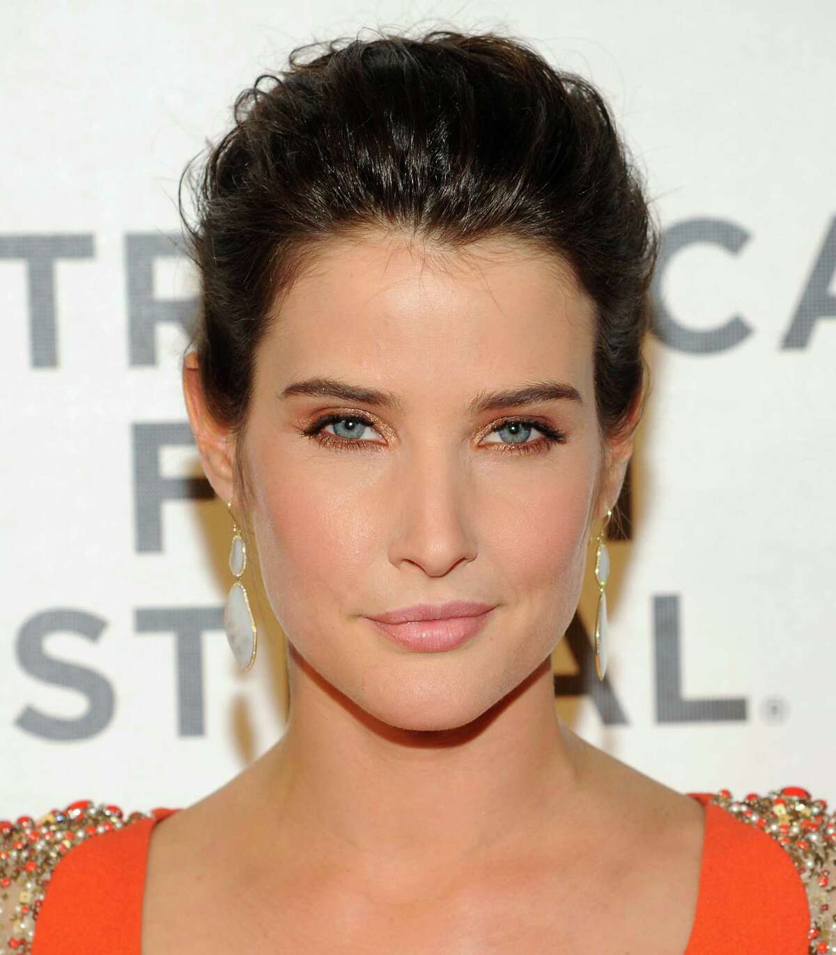 Actress Cobie Smulders attends the premiere of