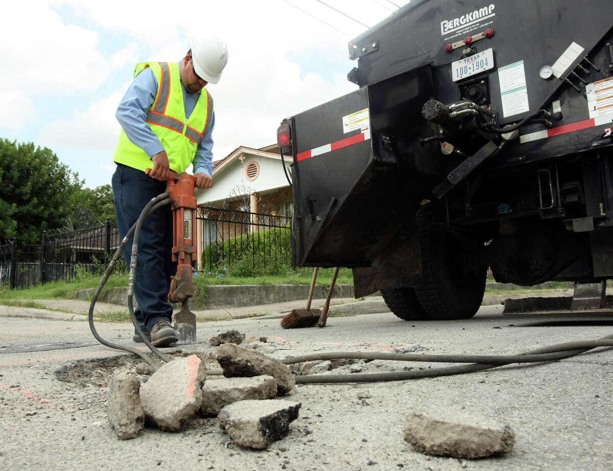 Applewhite Road Potholes repaired in fiscal year 2018: 412