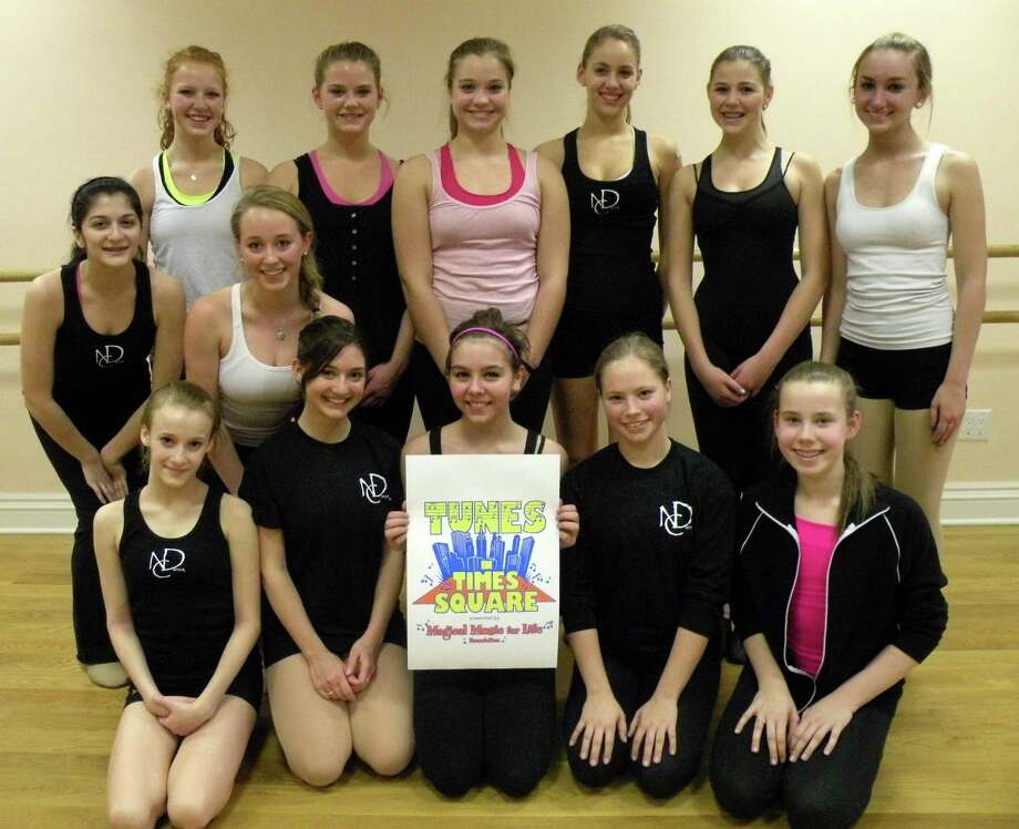 Pictured is New Canaan Dance Academy. Back row, from left, is Emma Fichtner, Abbie Fichtner, Ashley Tedford, Alison Wolff, Jessica Schwartz and Ellie Bohjalian. Middle row is Maggie Sposato and Kelsey Hartfelder. Front row is Abigail Neugeboren, Elyssa Harris, Audrey Casinelli, Kate Blasco and Alexandra Allen. Photo: Contributed Photo
