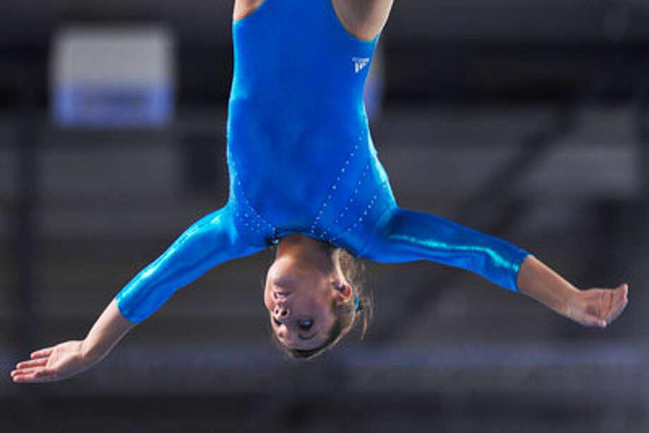 Newton native Savannah Vinsant, 18, has qualified for the 2012 U.S. Olympics in gymnastics. Photo: Intl. Gymnastics Federation