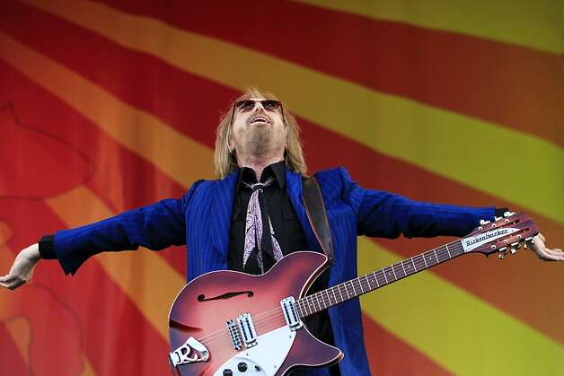 Tom Petty plays on the Acura Stage at the New Orleans Jazz & Heritage Festival  on Saturday, April 28, 2012. (AP Photo/The Times-Picayune, Chris Granger) MAGS OUT; NO SALES; USA TODAY OUT Photo: Chris Granger, Associated Press