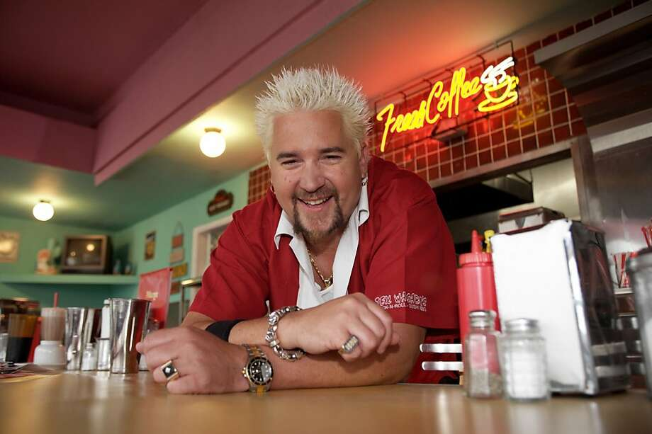 Food Network celeb Guy Fieri Photo: Handout