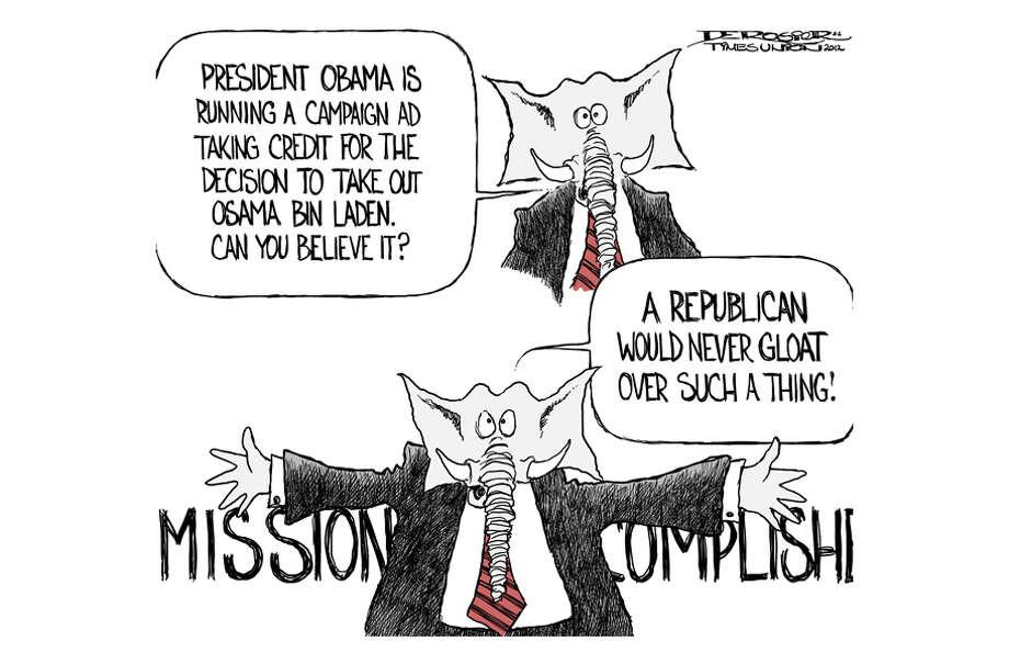 Republicans castigate president for ad taking credit for Bin Laden kill. Photo: John De Rosier