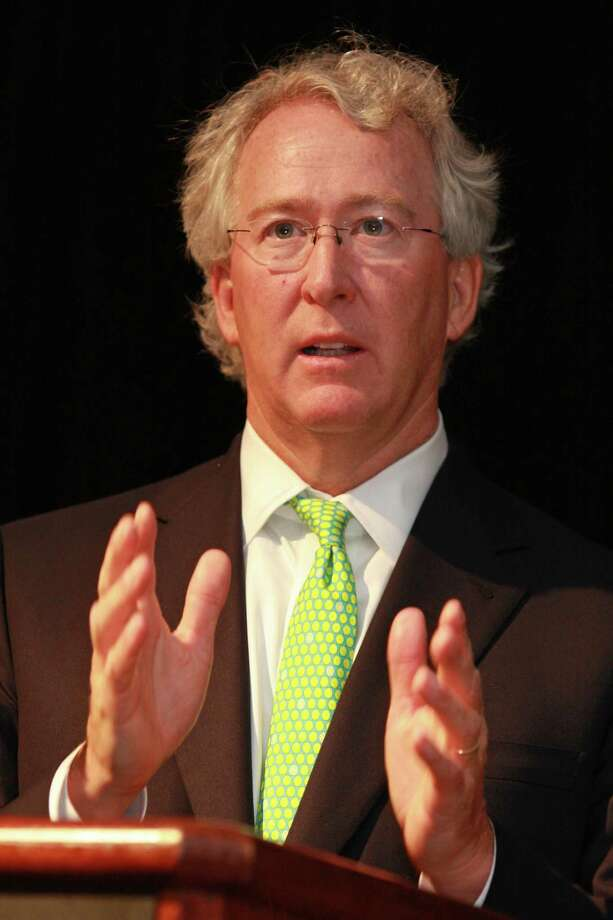 (For the Chronicle/Gary Fountain, June 10, 2010)   Chesapeake CEO Aubrey McClendon speaking at BENTEK's natural gas symposium. Photo: Gary Fountain / Freelance