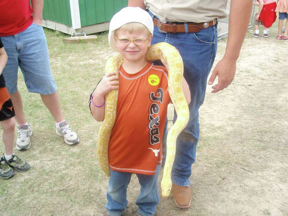 Colby Scott, of Lumberton, with Banana. Photo provided by the Scott Family.