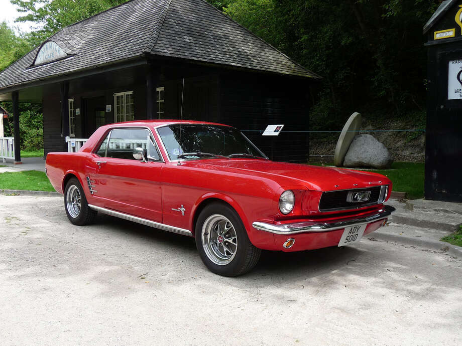 1966 Ford Mustang: Michael Breed. Photo: Contributed Photo