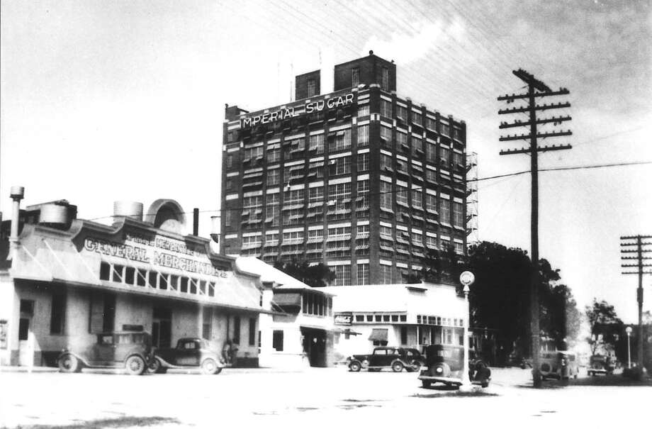 How the Imperial Sugar plant used to look in Sugar Land. The company has been sold to Louis Dreyfus Commodities. / handout
