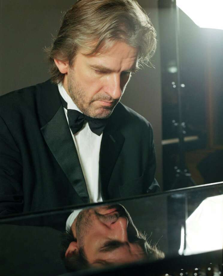 Pianist/conductor Barry Douglas will appear with the San Antonio Symphony. Courtesy Mark Harrison