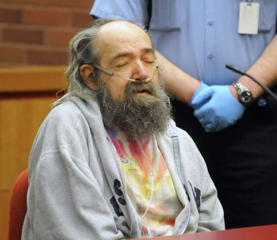 John Heath waits for his arraignment to begin at the Danbury Superior Court on Tuesday May 1, 2012. His trial is expected to start Thursday, Sept. 26, 2013. Photo: Lisa Weir