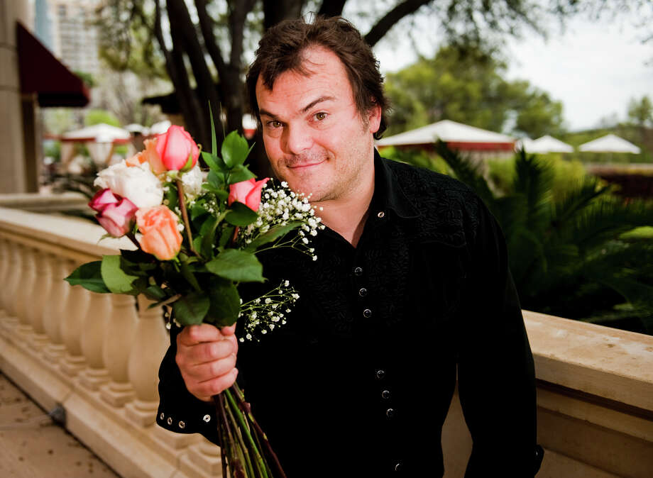 """I felt like I fit in pretty good,"" Jack Black says of pulling off his character, Bernie Tiede. Photo: Ashley Landis / copyright 2012 Ashley Landis"