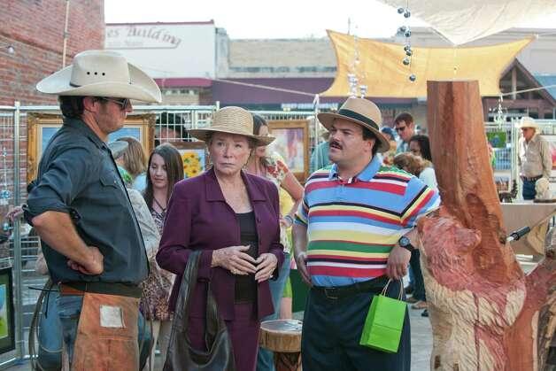"Shirley MacLaine and Jack Black co-star in the new Richard Linklater film ""Bernie.""  Photo: Millennium Entertainment / Millennium Entertainment"