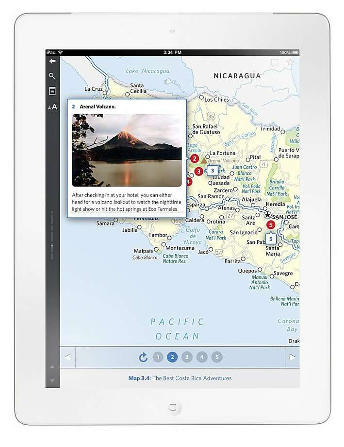 San Francisco startup Inkling is teaming up with Frommer's to bring travel guides to the iphone and ipad. Photo: Inkling.com