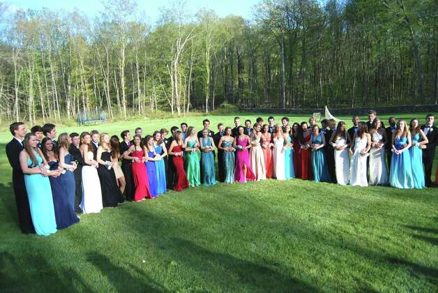 Pre-prom party line-up!  Photo by Savannah Shepard. Photo: Contributed Photo