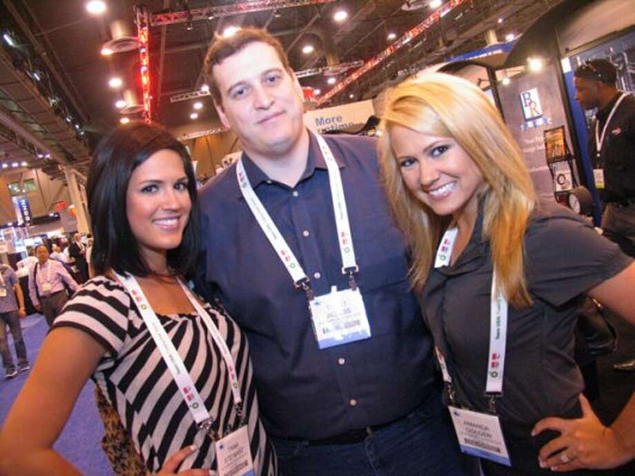 Tara Stewart, from left, Trent Jacobs, and Amanda Golden. Photo by Jordan Graber.