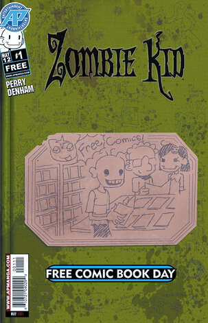 """Zombie Kid"" by San Antonio-based Antarctic Press is among the offerings  during Free Comic Book Day. Photo: Diamond Comic Distributors"