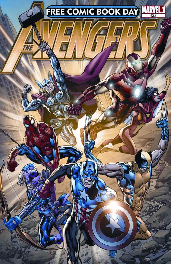 """Marvel Comics' """"Avengers"""" will be given out free on Free Comic Book Day, which is Saturday. Photo: Diamond Comic Distributors"""