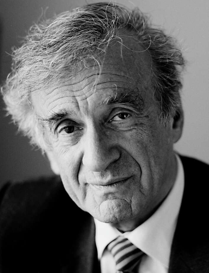 This is a photo of Elie Wiesel, Holocaust survivor and winner of the Nobel Peace Prize. He also won the 2012 Moral Courage Award from Holocaust Museum Houston and will be celebrated at a dinner May 7. Photo: Sergey Bermeniev