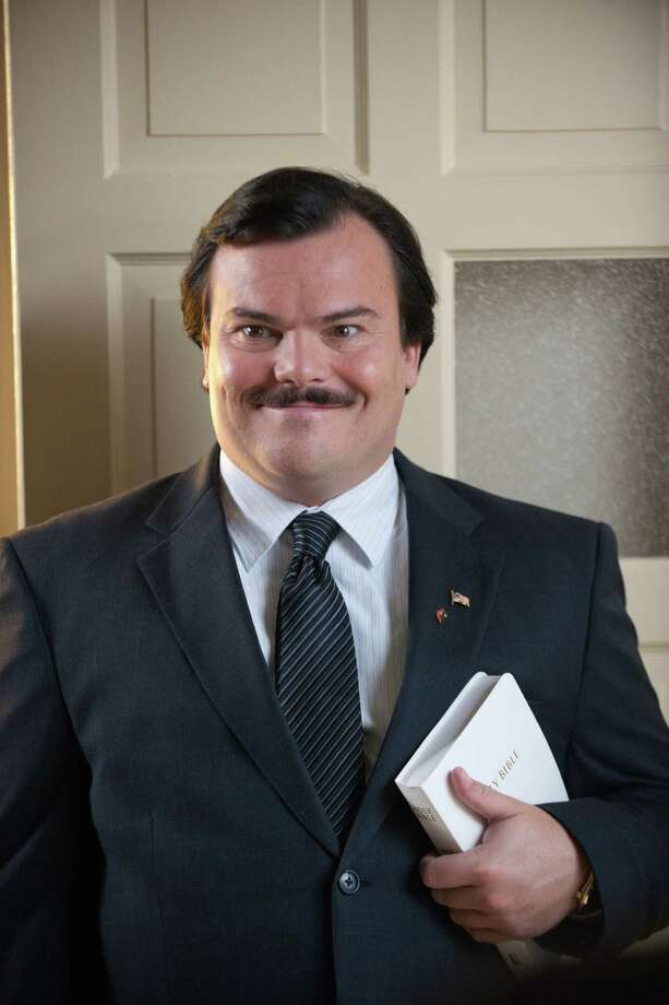 "Jack Black stars as Bernie Tiede in ""Bernie."" Photo: Van Redin"