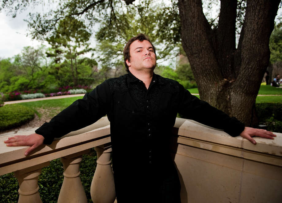 Jack Black makes comedic political videos. Photo: Ashley Landis / copyright 2012 Ashley Landis