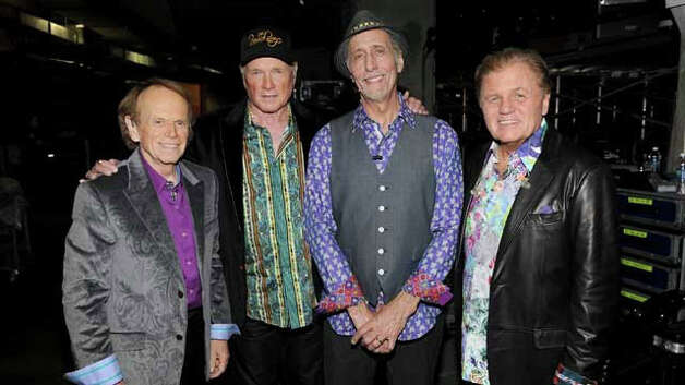 The Beach Boys tour includes two concerts at Mohegan Sun. Photo: Contributed Photo