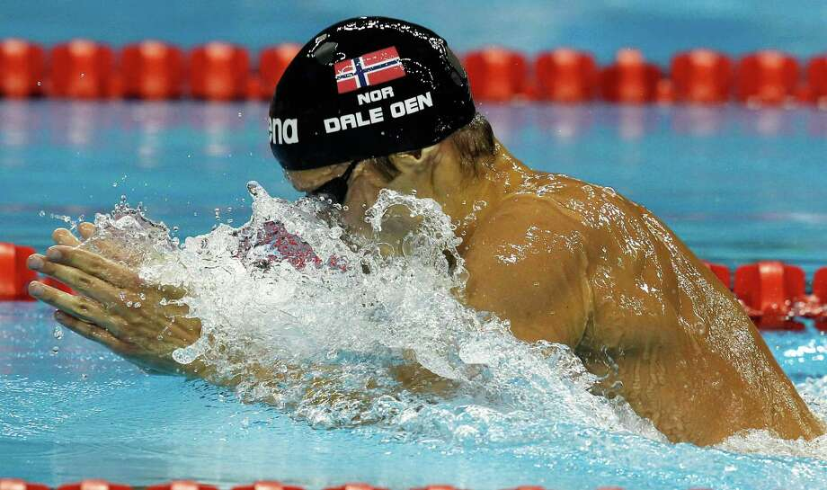 Alexander Dale Oen, a world champion swimmer who was one of Norway's top medal hopes for the 2012 Olympics, died during training camp in Flagstaff, Ariz., from cardiac arrest. He was 26. Photo: Wong Maye-E, AP / AP