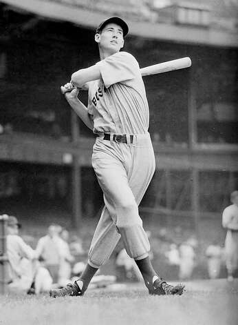 Ted Williams was The Splendid Splinter. Photo: Ted Sande, AP 1941