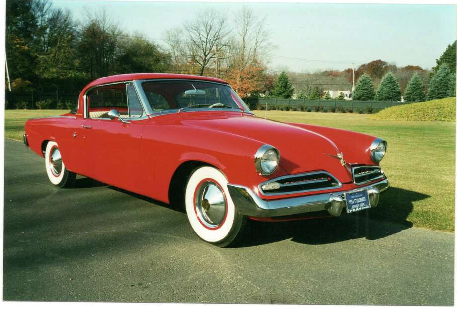 A 1953 Studebaker Starlight Coupe, owned by Greenwich resident Malcolm Pray, will be among the 70 automobiles on display in the Stamford Museum & Nature Center's 9th annual Model Ts to Mustangs Antique and Classic Car Show on Saturday, May 5. Photo: Contributed Photo