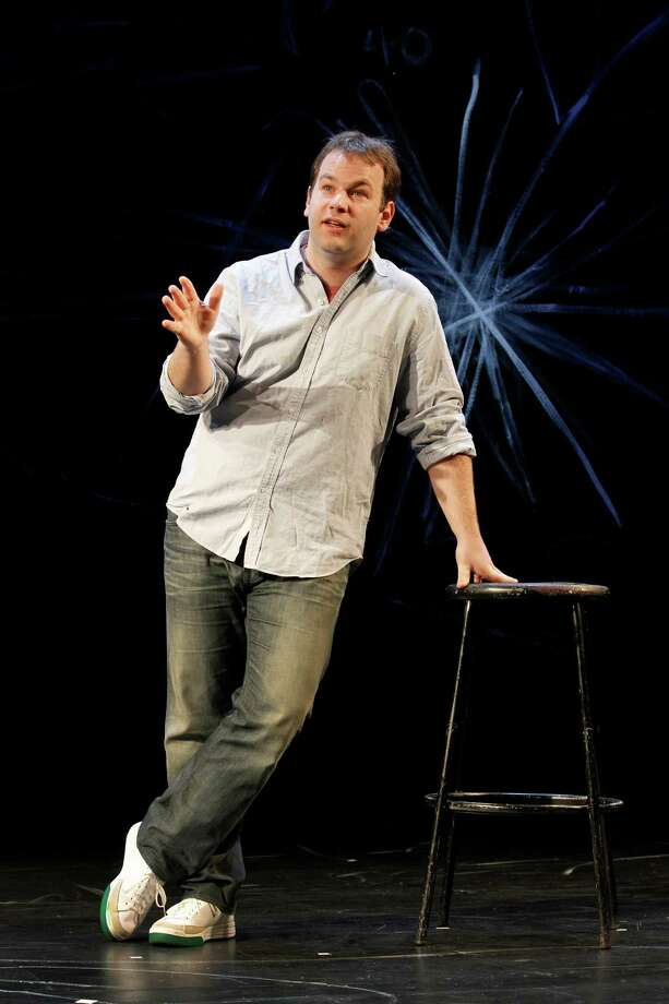 """Comedian Mike Birbiglia brings his one-man show, """"My Girlfriend's Boyfriend,"""" to the Palace Theatre in Stamford on Thursday, May 3. Photo: Contributed Photo / Connecticut Post Contributed"""