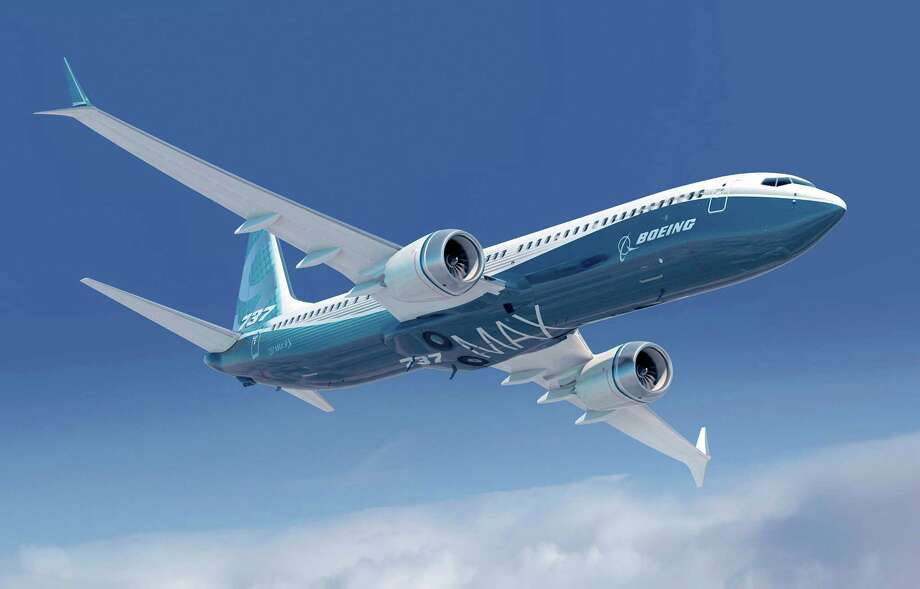 A depiction of a Boeing 737 MAX with the new 'Advanced Technology' winglet. Photo: Boeing Graphics / Copyright © 2012 Boeing. All Rights Reserved.