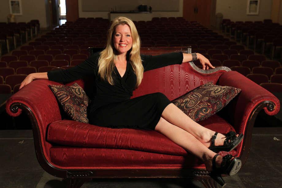 Asia Ciaravino is the new president and CEO of San Pedro Playhouse.  Photo: Jennifer Whitney, Special To The Express-News / special to the Express-News