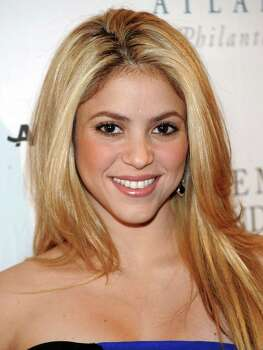 FILE - In this Jan. 19, 2009 filephoto, singer Shakira attends the Huffington Post Pre-Inaugural Ball at the Newseum in Washington. Photo: Evan Agostini, AP / AGOEV