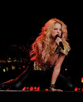 NEW YORK - SEPTEMBER 21:  Shakira performs at Madison Square Garden on September 21, 2010 in New York, New York.  (Photo by Larry Busacca/Getty Images for Epic) *** Local Caption *** Shakira Photo: Larry Busacca, Getty Images For Epic / 2010 Getty Images