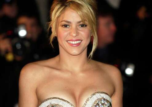 Colombian performer Shakira arrives for the NRJ Music awards ceremony in Cannes, southeastern France, Saturday, Jan. 28, 2012. Photo: Lionel Cironneau, AP / AP