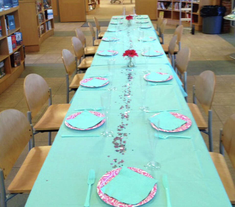 Gala attendees can bid on a pizza dinner and sleepover for their kids and 11 friends at the Darien Library. Photo: Contributed Photo