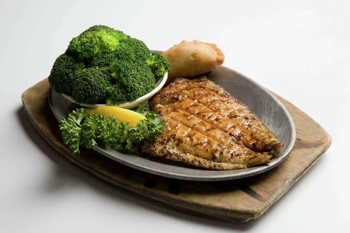Flounder dish at Goode Company Seafood.