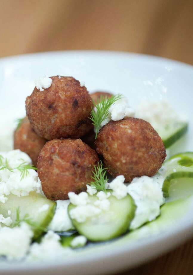 SLUG: Chicken Meatball-Photo Request 57255-May 1, 2012-San Antonio, Texas---Chicken Meatballs from The Monterey at 1127 S. St. Mary's. Photo: Robin Jerstad, Robin Jerstad/For The Express-News