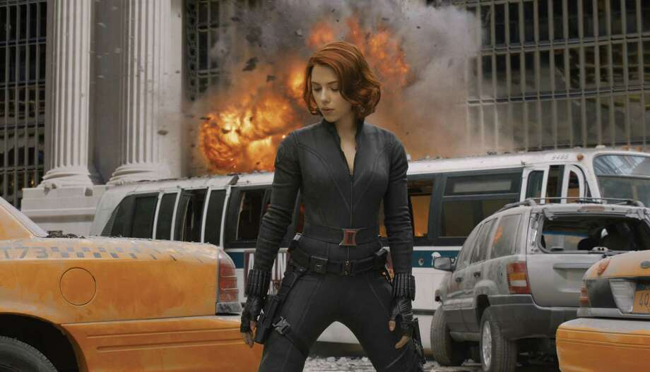 "Scarlett Johansson stars as Black Widow in ""The Avengers"", but geeks would love to see her kick butt on her own. Photo: Marvel"