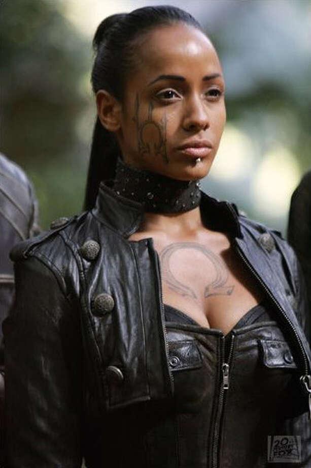 "Dania Ramirez played Callisto, a mutant with heightened senses, in 2006's ""X-Men: The Last Stand."" Photo: Twentieth Century Fox"
