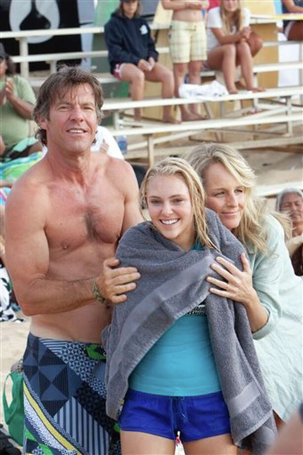 """Soul Surfer"" (2011)Total earnings: $47,088,990Starring: AnnaSophia Robb, Helen Hunt, Carrie Underwood, Dennis Quaid, Kevin SorboPlot: Bethany Hamilton, a teen surfer who's set for stardom, is dealt a devastating blow. While out in the water, a shark bites her arm off. What's more: this is a true story."