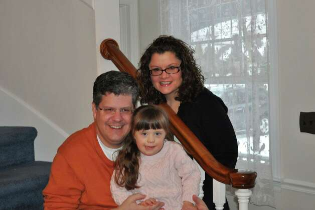Darien residents Ed and Catherine Piorkowski, and their daughter, Hope, will serve as chairmen of the seventh annual STAR Walk, Roll and Stroll at Sherwood Island State Park in Westport on Sunday, May 6, 2012. Photo: Contributed Photo