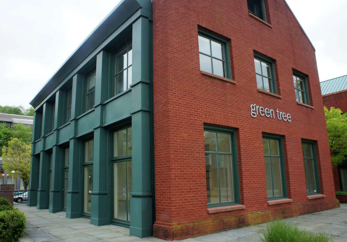 A Weston-based LLC is seeking to open a new restaurant on the first floor of 12 Wilton Road, which stands adjacent to the downtown landmark National Hall on the west bank of the Saugatuck River. The building's second floor houses office space for the Green Tree mortgage company.