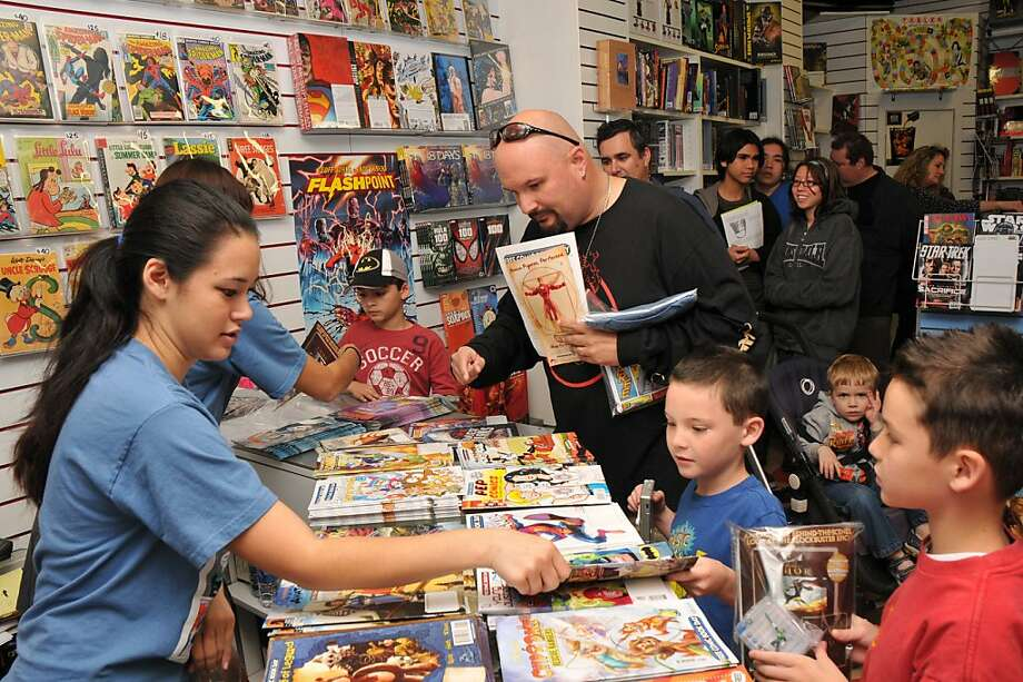 Free Comic Book Day at Flying Colors Comics in Concord Photo: Flying Colors Comics